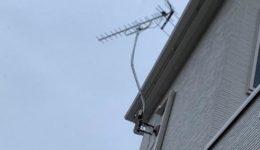 網戸・TVアンテナ・エアコンを3台取付させていただきました!